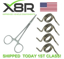 MERCEDES CLK W209 A209 2002-2009 DOOR LATCH ACTUATORS REPAIR KIT SPRINGS X4 PART NUMBER: X8R7