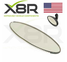 BMW Z SERIES Z3 M S52 & S54 3.2L 2000-2002 OVAL REAR VIEW MIRROR AUTO DIM DIMMING GLASS PART NUMBER: X8R0073
