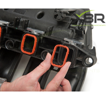 4X 33MM BMW DIESEL SWIRL FLAP BLANKS FLAPS REPAIR WITH INTAKE MANIFOLD GASKETS PART NUMBER: X8R0066-X8R0016