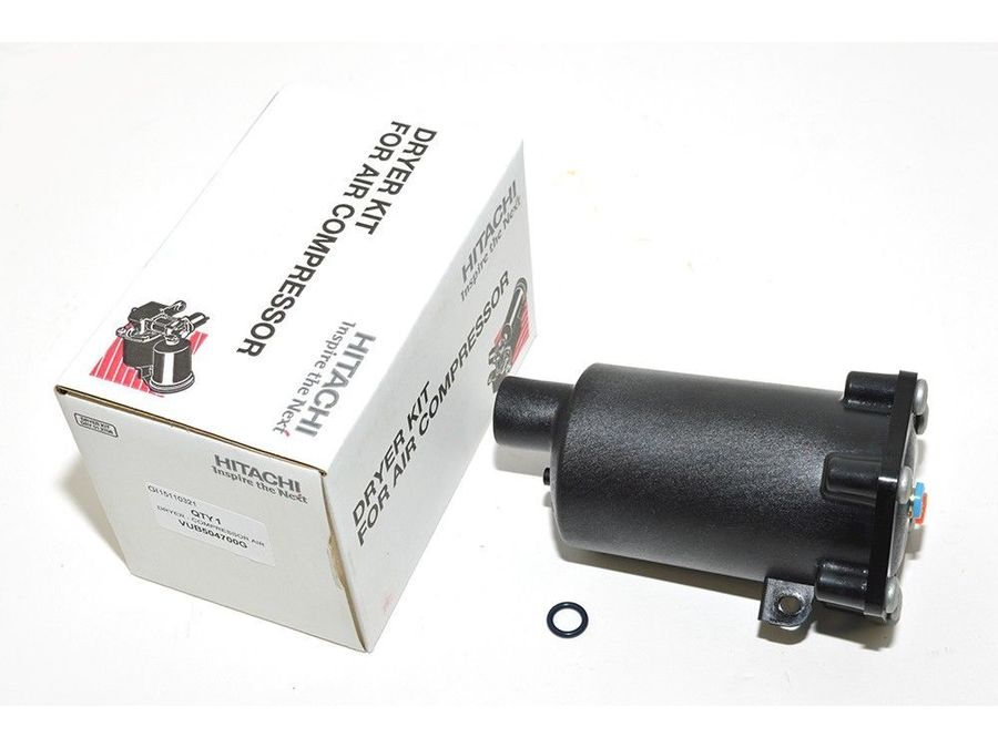 LAND ROVER RANGE ROVER SPORT L320 AIR COMPRESSOR DRIER WITH O RING PART NUMBER: VUB504700