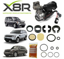 LAND ROVER DISCOVERY 3 / LR3 2005-2009 AIR SUSPENSION COMPRESSOR REBUILD KIT PART NUMBER: X8R46