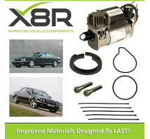 JAGUAR XJ SERIES 2003-2010 WABCO AIR SUSPENSION COMPRESSOR PISTON SEAL & DRYER FILTRATION REBUILD KIT PART NUMBER: X8R45/FILTER
