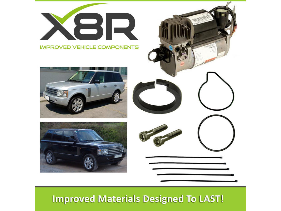 LAND ROVER RANGE ROVER L322 MK3 2003-2005 WABCO AIR SUSPENSION COMPRESSOR PISTON RING REBUILD KIT PART NUMBER: X8R45