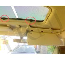 LAND ROVER DISCOVERY 1 & DISCOVERY 2 RETRACTABLE SUNROOF SHADE CLIPS REPAIR KIT PART NUMBER: URY2