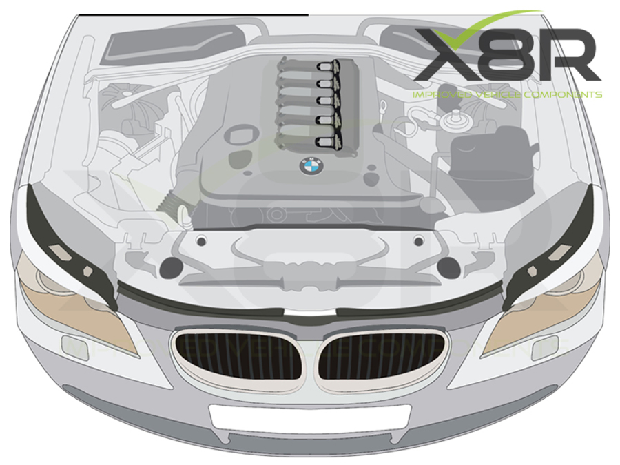 4X 22MM BMW DIESEL SWIRL FLAP BLANKS 320d 330d 520d 525d 530d 730d FLAPS REPAIR PART NUMBER: X8R15