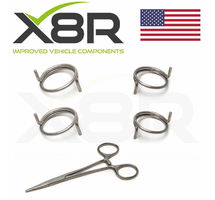 MERCEDES M ML CLASS W163 DOOR LOCK ACTUATOR SPRING SPRINGS REPAIR PART FIX KIT PART NUMBER: X8R0072