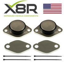 DISCOVERY MK 3 TDV6 2.7 EGR REMOVAL BLANKS KIT REMOVE BLANKING BLANK PLATES PART NUMBER: X8R-00010