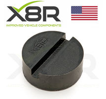 RUBBER JACKING PAD BLOCK PADS ADAPTOR PROTECTOR PROTECTION SLOT SILL PINCH WELD PART NUMBER: X8R0094