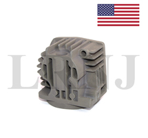 AIR SUSPENSION COMPRESSOR PUMP CYLINDER HEAD FOR VW TOUAREG 2004-2010 COMPRESSOR PART NUMBER: LRNJQ7