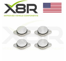 4X 33MM BMW DIESEL SWIRL FLAP BLANKS 320d 330d 520d 525d 530d 730d FLAPS REPAIR PART NUMBER: X8R16