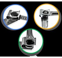 SAAB 9-3 93 WINDSCREEN WIPER MOTOR LINKAGE LINK REPAIR CLIP KIT STRONG PART NUMBER: X8R3