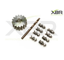 FORD GALAXY SEAT ALHAMBRA VW SHARAN SPARE WHEEL CARRIER GEAR REPAIR FIX KIT PART NUMBER: X8R0089