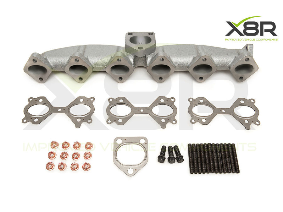 NEW REPLACEMENT CAST IRON EXHAUST MANIFOLD BMW X3 E83 3.0D X5 E53 3.0D CRACK FIX PART NUMBER: X8R0095