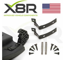 AUDI A4 S4 RS4 B6 B7 8E GLOVE BOX LID HINGE SNAPPED REPAIR FIX KIT BRACKETS PART NUMBER: X8R0065