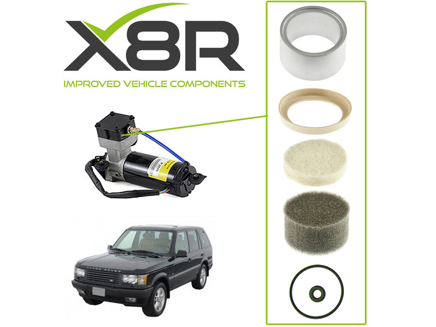 LAND ROVER RANGE ROVER P38 AIR SUSPENSION COMPRESSOR PISTON LINER & SEAL REBUILD KIT PART NUMBER: X8R22