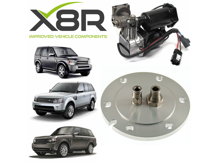 LAND ROVER LR4 / DISCOVERY 4 AIR COMPRESSOR DRIER NEW END CAP REPAIR KIT PART NUMBER: X8R37