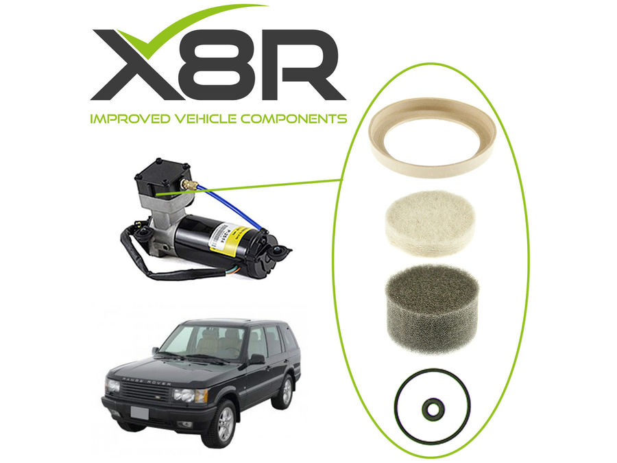 LAND ROVER RANGE ROVER CLASSIC AIR SUSPENSION COMPRESSOR REBUILD KIT ANR3731 PART NUMBER: X8R13