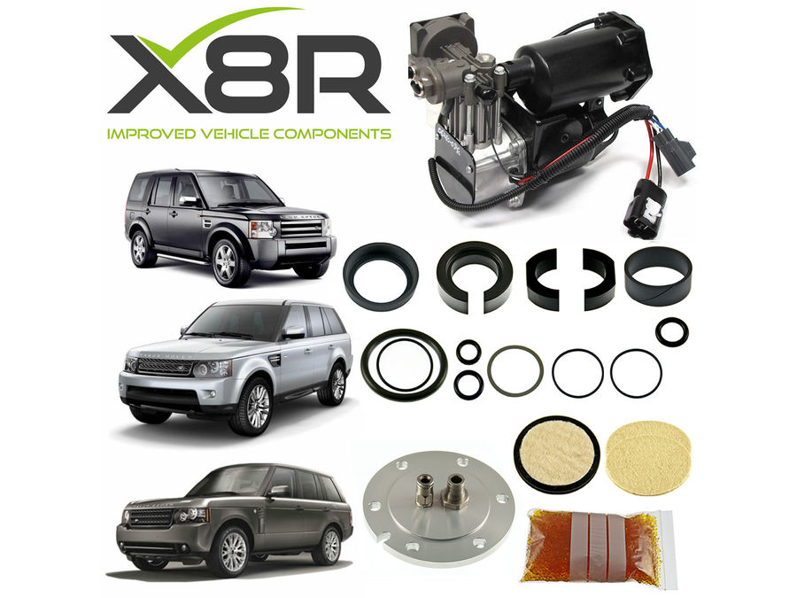 LAND ROVER LR3 / DISCOVERY 3 HITACHI AIR COMPRESSOR AND FILTER DRYER REPAIR KIT PART NUMBER: X8R44