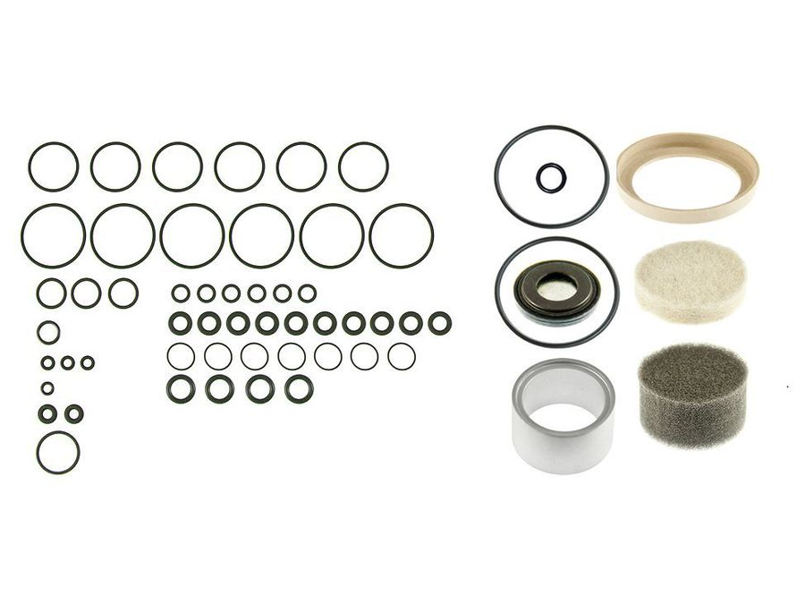 RANGE ROVER P38 EAS AIR COMPRESSOR SEAL LINER VALVE BLOCK O RING DIAPHRAGM KIT PART NUMBER: X8R38