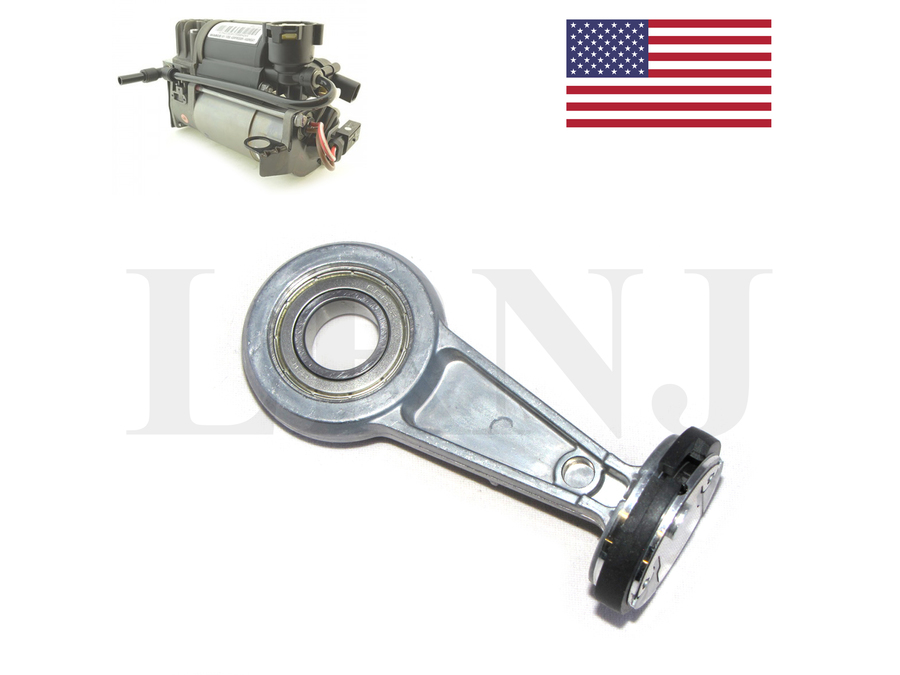 FOR LAND ROVER RANGE ROVER L322 2002-2005 / DISCOVERY 2 1998-2004 & JAGUAR XJ 2003-2010 WABCO AIR SUSPENSION COMPRESSOR CONNECTING ROD & PTFE PISTON RING REPAIR KIT PART NUMBER: LRNJ45ROD