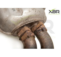 BMW E46 M3 EXHAUST FLANGE MUFFLER BLACK BOX REPAIR RUSTED CORRODED FLANGES KIT PART NUMBER: X8R0092
