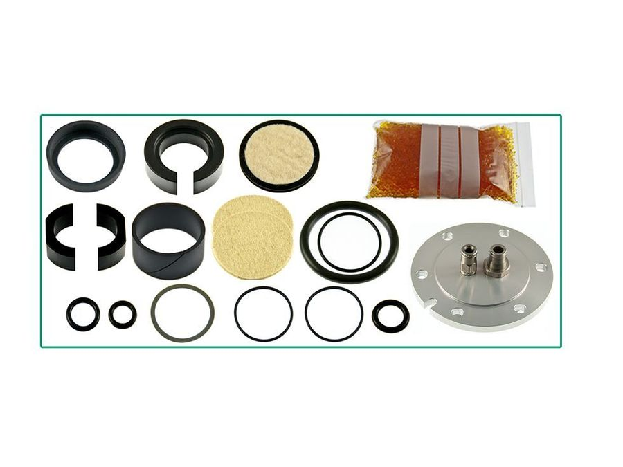 LAND ROVER LR3 / DISCOVERY 3 HITACHI AIR COMPRESSOR AND FILTER DRYER REBUILD KIT PART NUMBER: X8R44