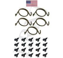 LAND ROVER DISCOVERY 1 1989-1998 DOOR LOCK LATCH REPAIR SPRINGS AND CLIPS SET PART NUMBER: X8R10/CLIPS3