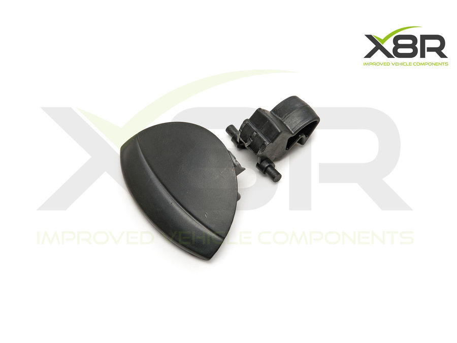 FOR CITROËN C4 GLOVEBOX LID HANDLE SPRING REPLACEMENT REPAIR KIT BLACK PLASTIC PART NUMBER: X8R0074