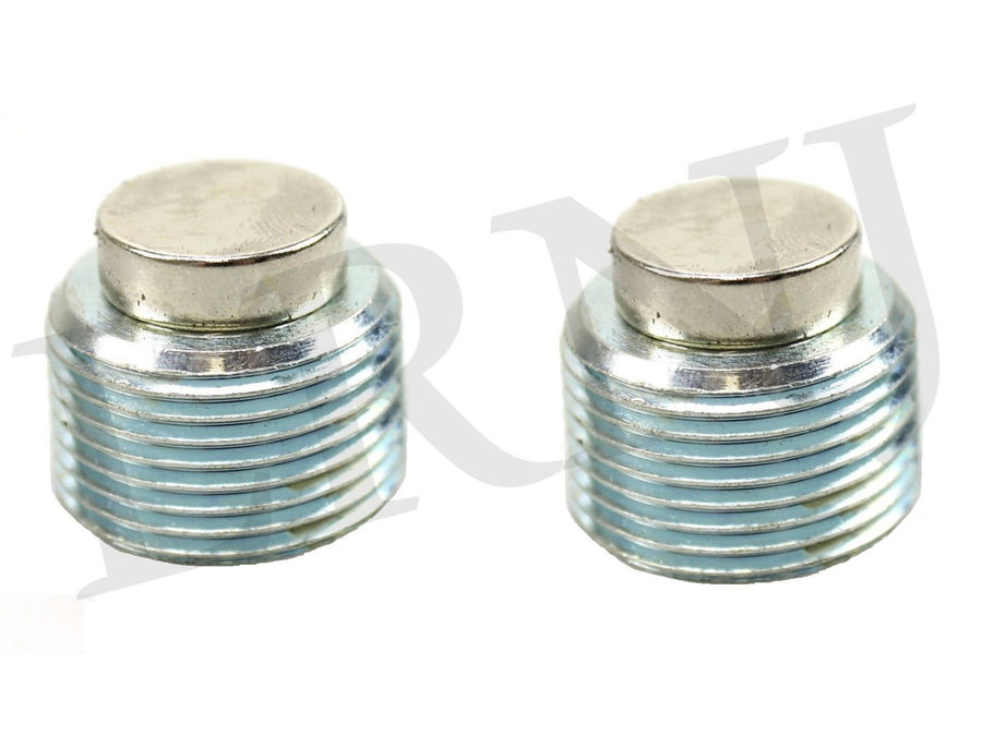 LAND ROVER DISCOVERY 2 1999-2004 FRONT & REAR DIFFERENTIAL DRAIN PLUG SET MAGNETIC PART NUMBER: TYB500120