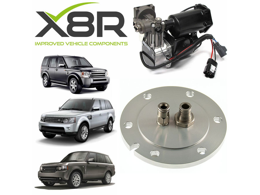 LAND ROVER RANGE ROVER 2006-2009 AIR COMPRESSOR DRIER NEW END CAP REBUILD KIT PART NUMBER: X8R37