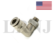 FOR VW TOUAREG 6MM ANGLE ELBOW CONNECTION FOR AIR SUSPENSION COMPRESSOR PUMP PART NUMBER: LRNJELBOW6