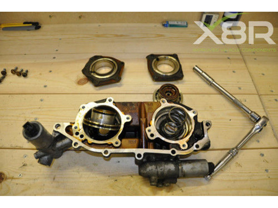 BMW 3 SERIES E46 98-05 DOUBLE TWIN DUAL VANOS SEALS UPGRADE REBUILD SET KIT PART NUMBER: X8R41