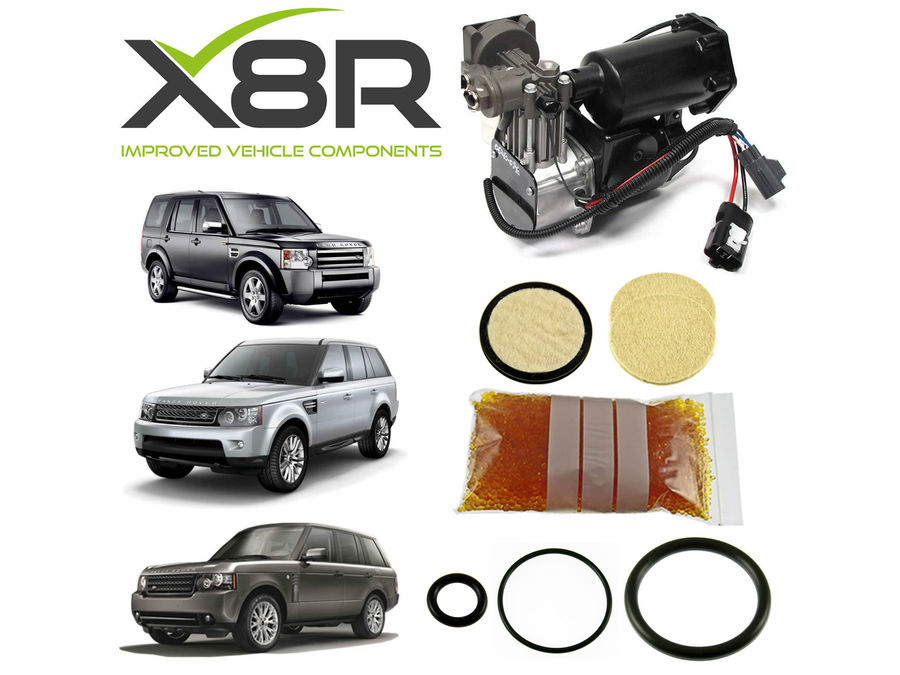 LAND ROVER RANGE ROVER SPORT AIR COMPRESSOR DRIER VUB504700 REPAIR KIT PART NUMBER: X8R35