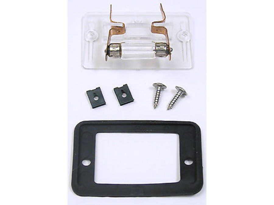 LAND ROVER DISCOVERY 2 1999-2004 LICENSE PLATE SERVICE KIT SET OF 2 PART NUMBER: XFC500050