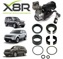 LAND ROVER LR4 / DISCOVERY 4 AIR COMPRESSOR REPLACEMENT PISTON SEALS REBUILD KIT PART NUMBER: X8R27