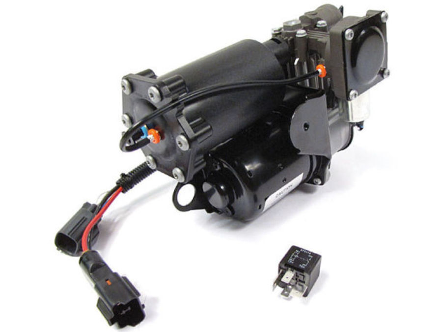 LAND ROVER LR4 / DISCOVERY 4 OEM HITACHI AIR SUSPENSION COMPRESSOR PART NUMBER: LR023964