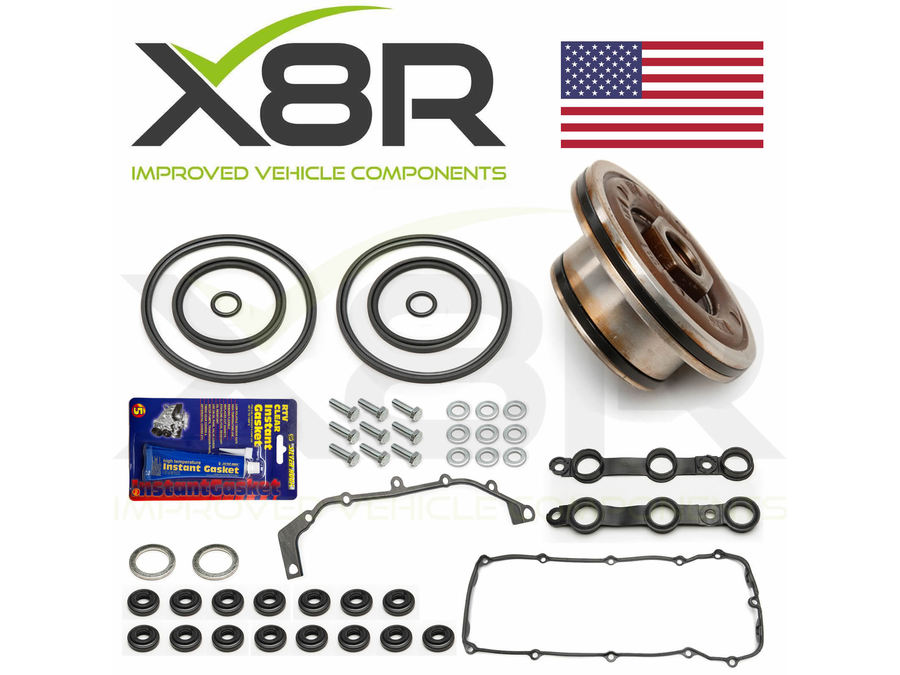 BMW 3 SERIES E46 1998-2005 DOUBLE TWIN DUAL VANOS SEALS REPAIR SET KIT PART NUMBER: X8R0067-X8R0028