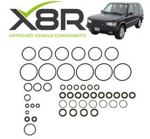 RANGE ROVER P38 EAS AIR SUSPENSION VALVE BLOCK VITON O RING REPAIR FIX KIT PART NUMBER: X8R12