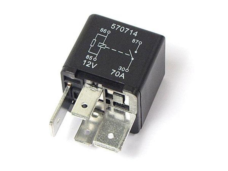 LAND ROVER AIR SUSPENSION COMPRESSOR RELAY TO AMP PUMP 12V 70A PART NUMBER: YWB500220